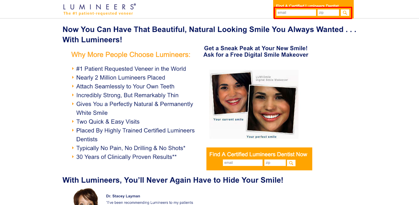 How to Login at MyNextSmile Lumineers