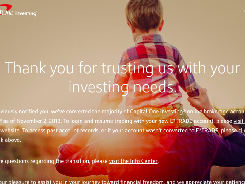 www.capitaloneinvesting.com – ShareBuilder Login Helps
