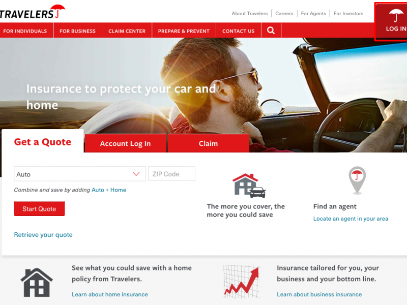 www.travelers.com – Login to Your Travelers Insurance Account