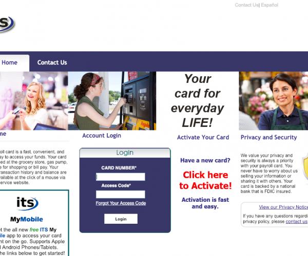 www.itsmypayroll.com – ItsMyPayroll Prepaid Self Service Login