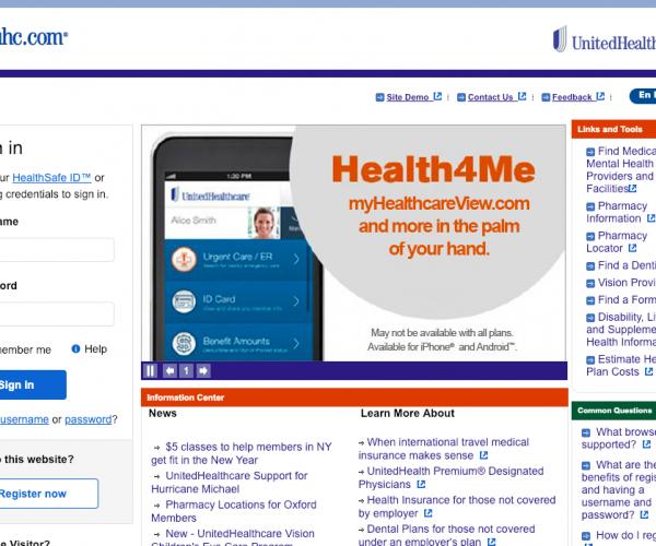www.myuhc.com – United Healthcare Portal Login