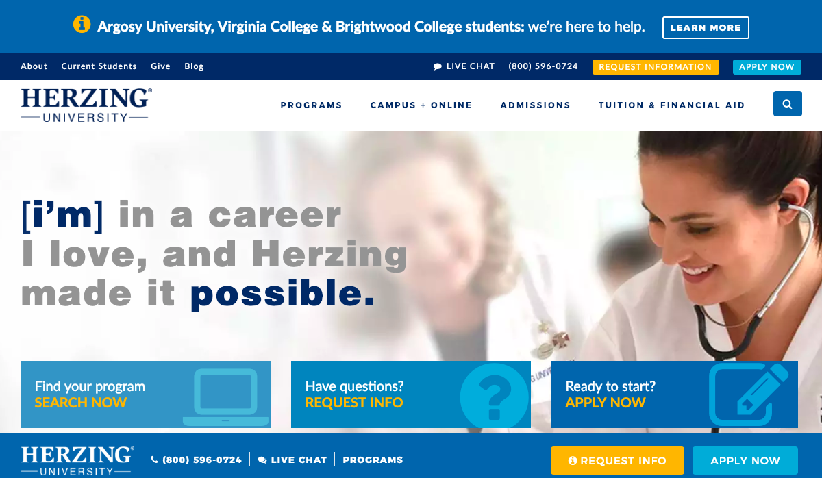 www.herzing.edu – Herzing Blackboard Login Procedure