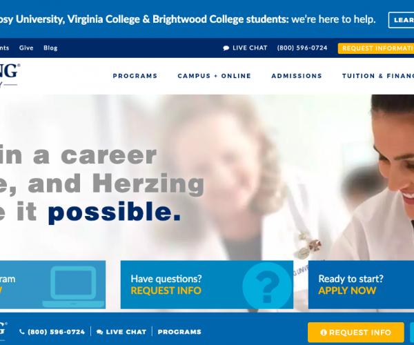 www.herzing.edu – Herzing Blackboard Login Procedure