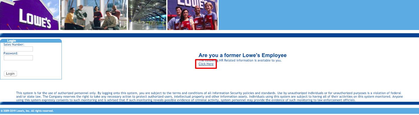 Lowes Employee Login