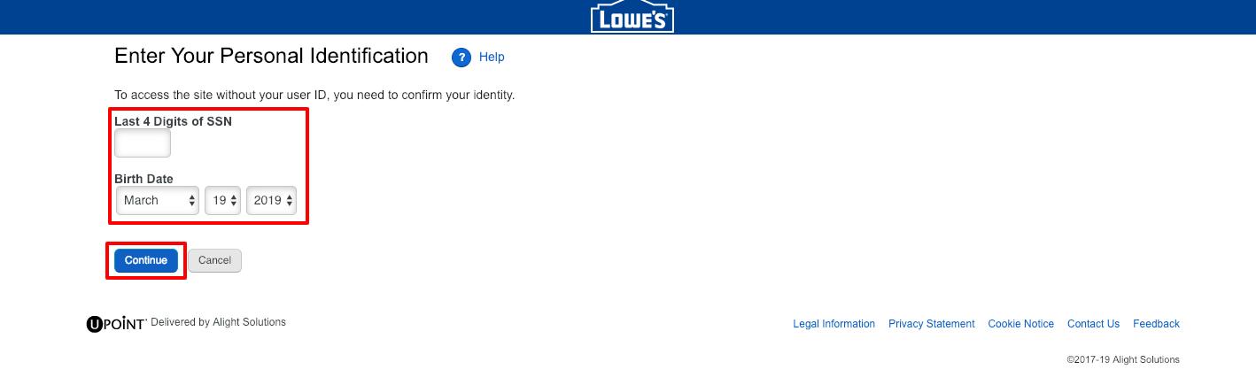 Lowes Employee Portal