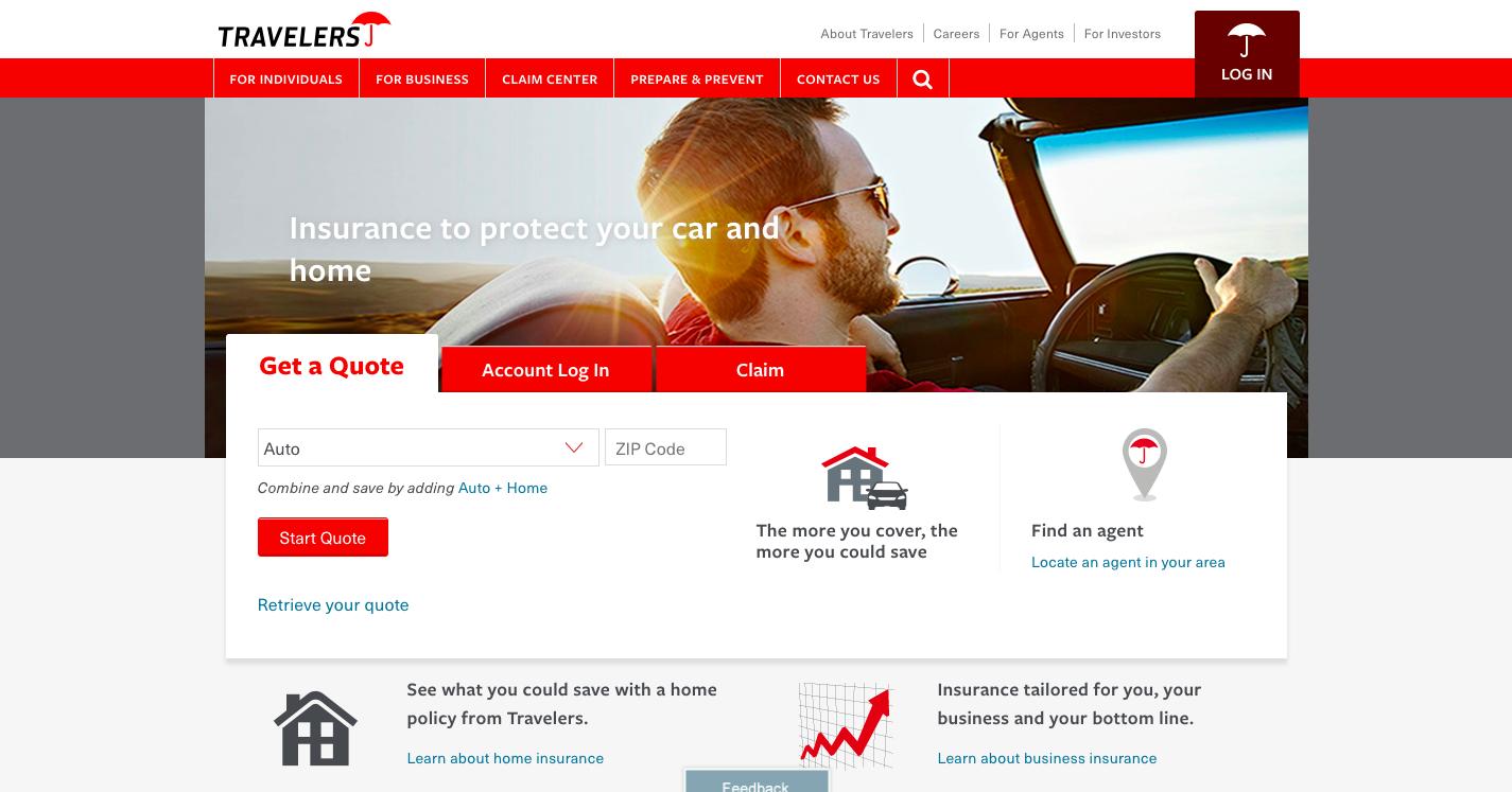 Travelers Insurance Account