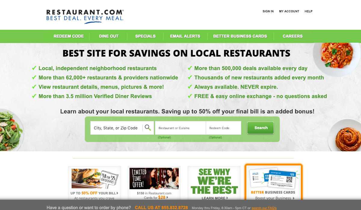 www.restaurant.com – Dining Dough Login Guidelines