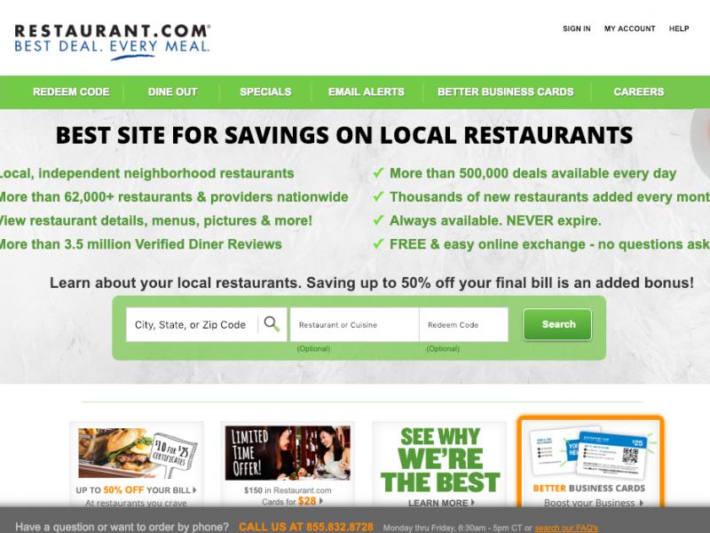 www.restaurant.com – Dining Dough Login Guidelines
