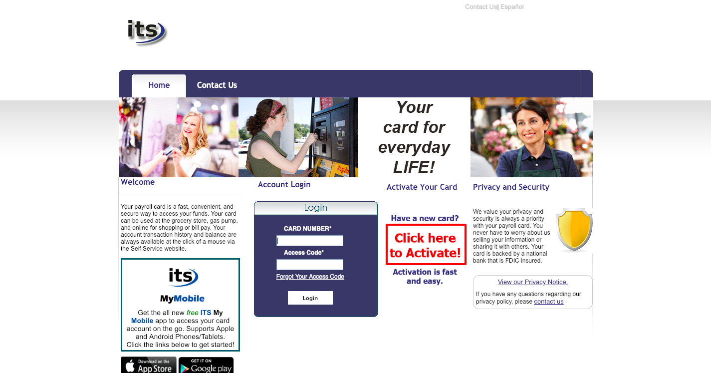 ItsMyPayroll Prepaid Self Service Payroll Login