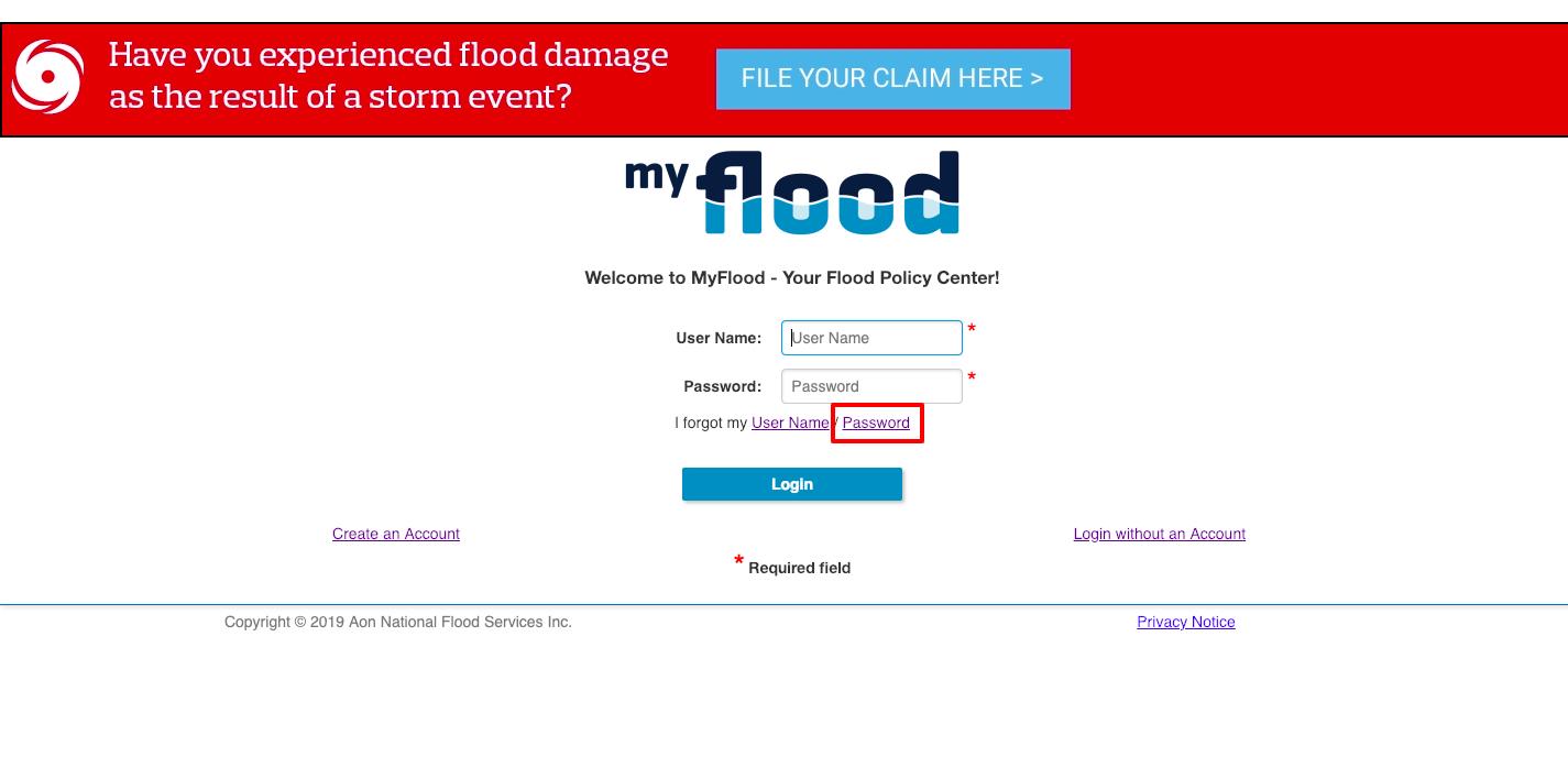 MyFlood insurance
