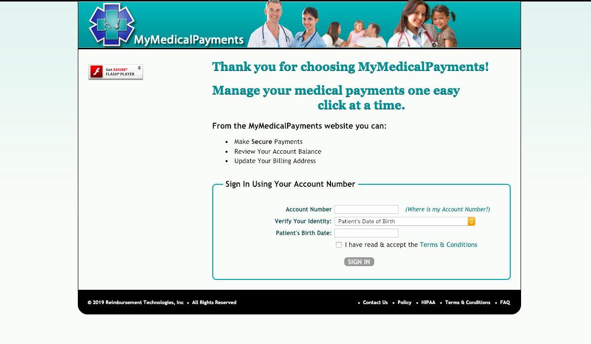 www.mymedicalpayments.com – MyMedicalPayments Login