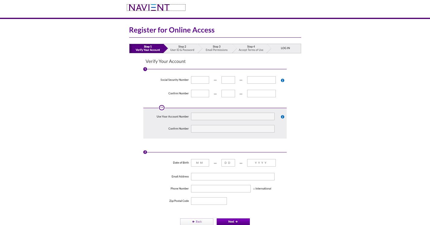 Navient Student Loan Login Help