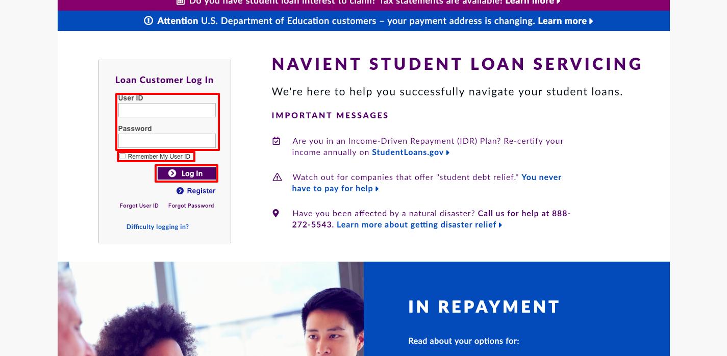 Navient Student Loan Login