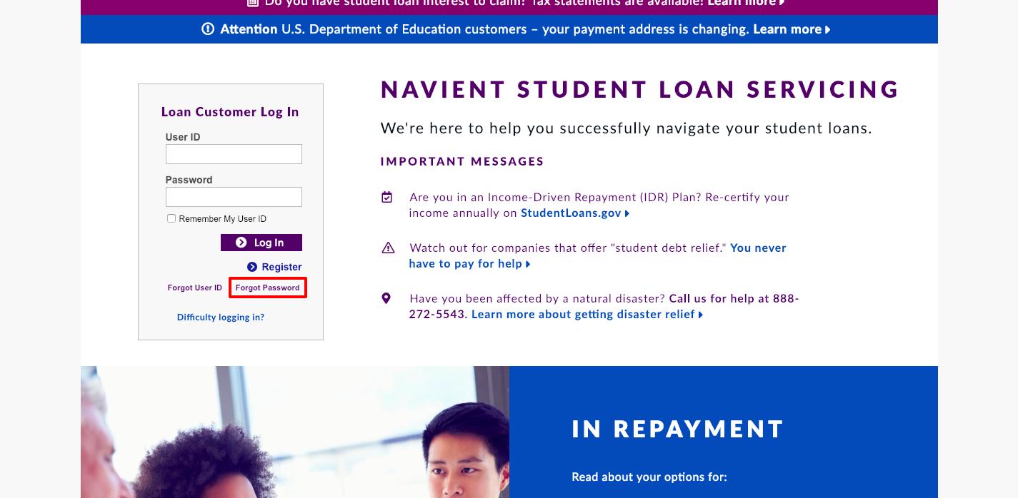 Navient Student Loan