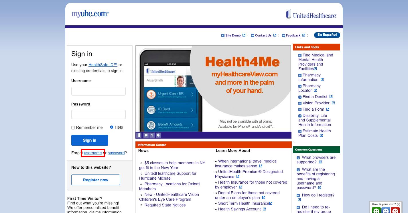 United Healthcare Portal Login