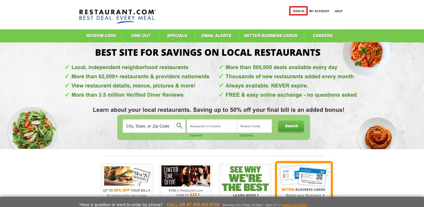 www.restaurant.com