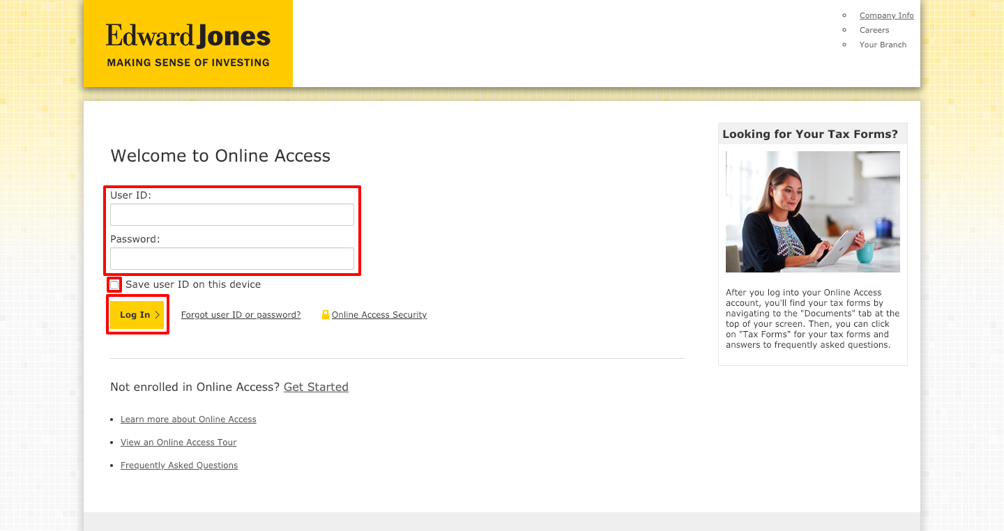 Edward Jones Account Access