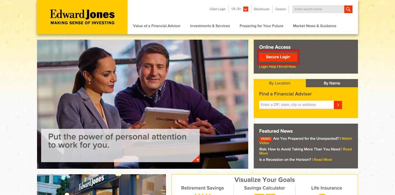 Edward Jones Investments Login