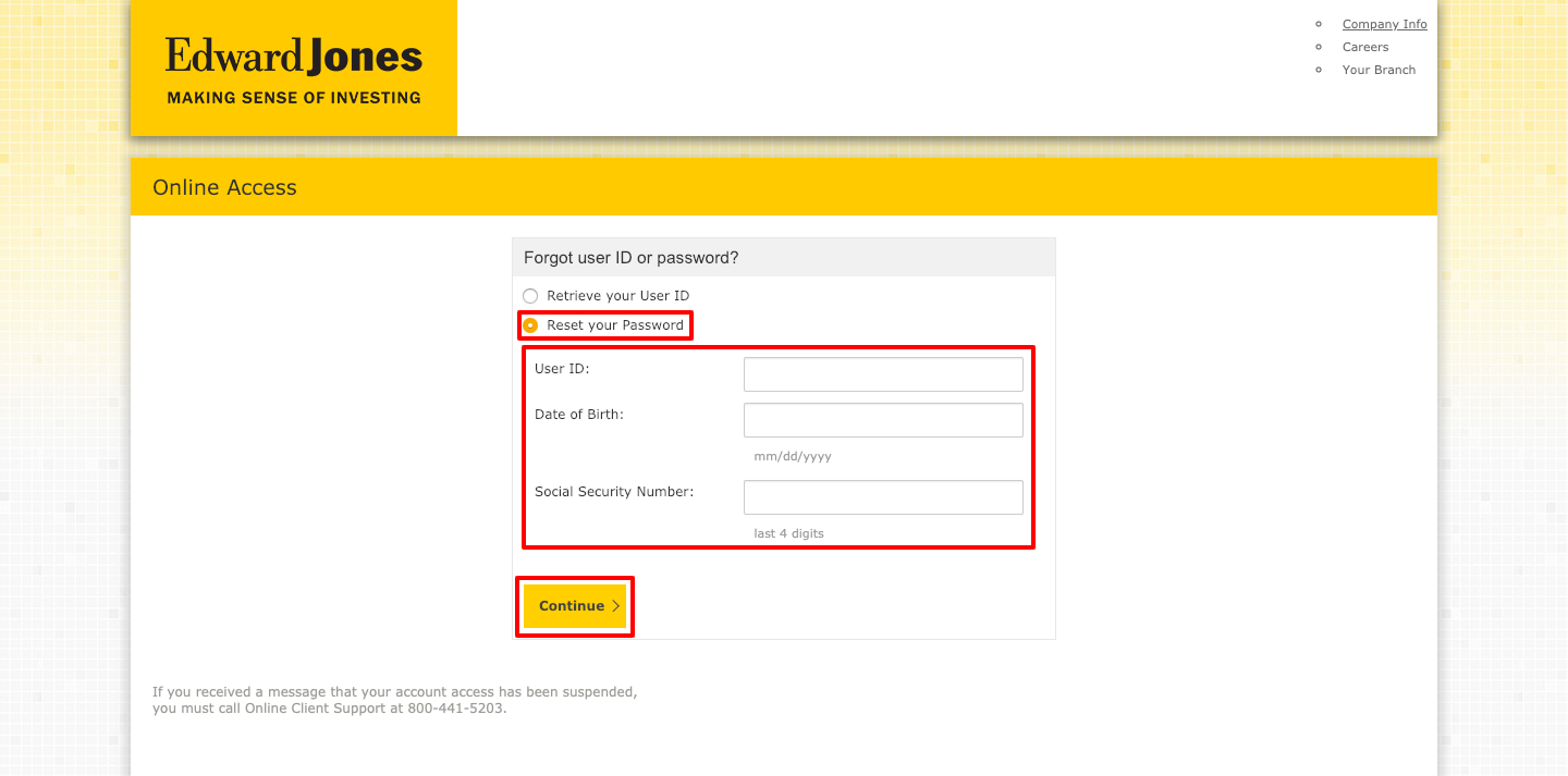 Edward Jones Login