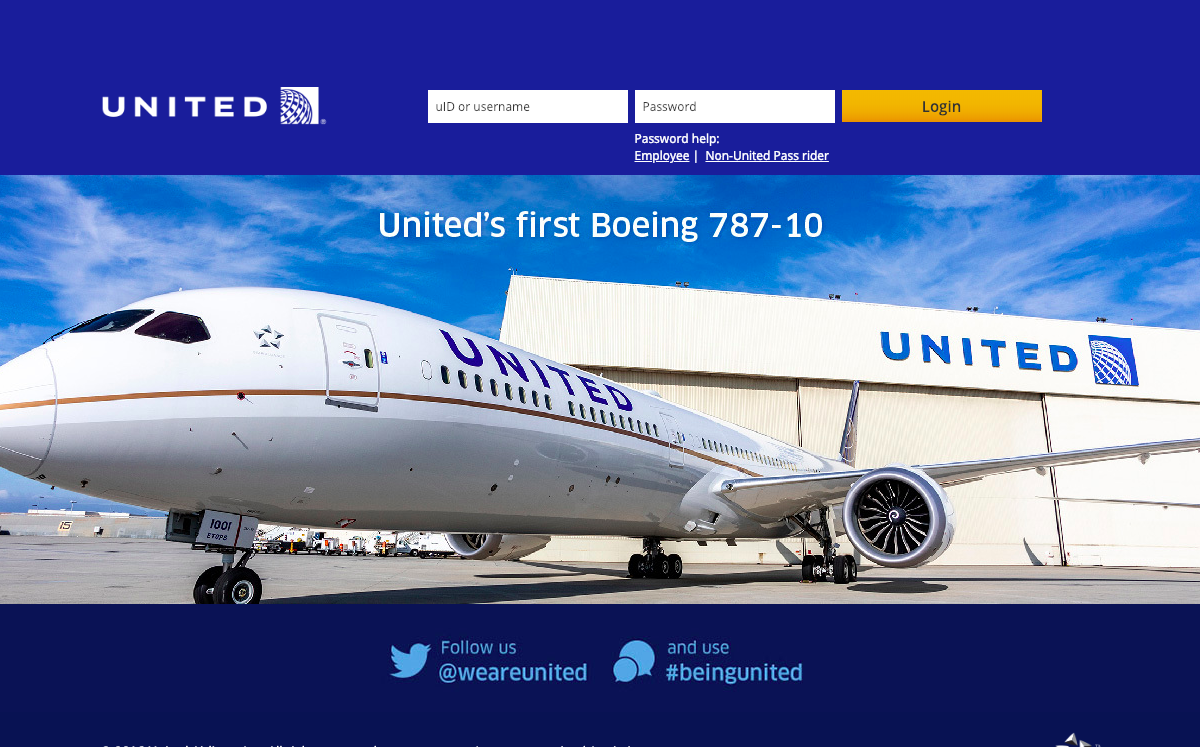 flyingtogether.ual.com – United Airlines Skynet Employee Login Guide