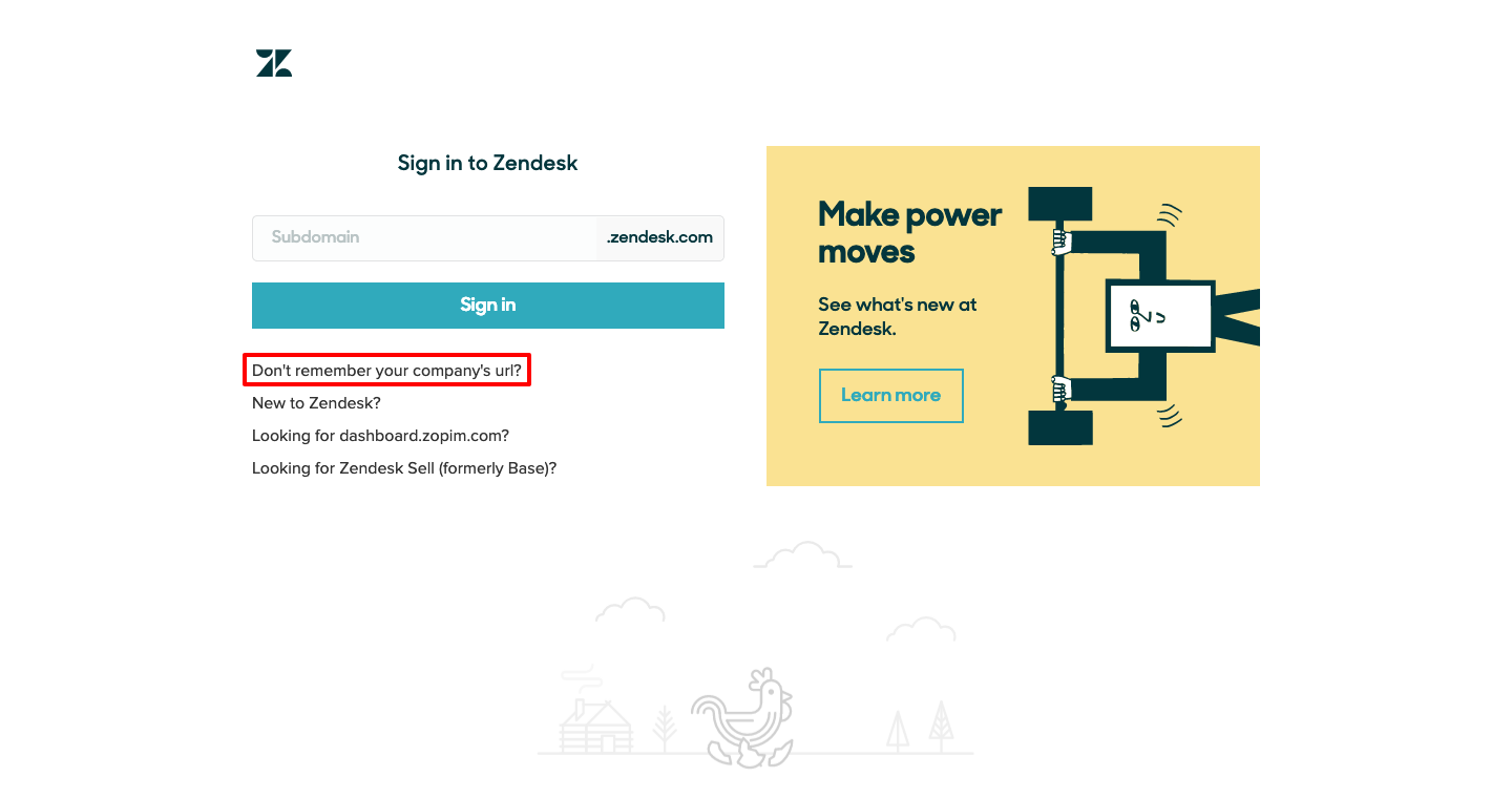 zendesk customer login