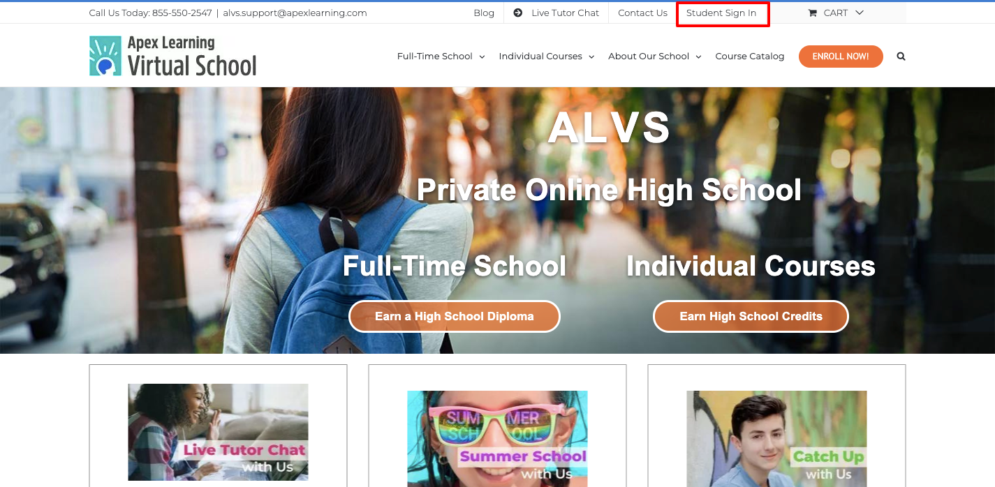Apex Learning Virtual School Student Login
