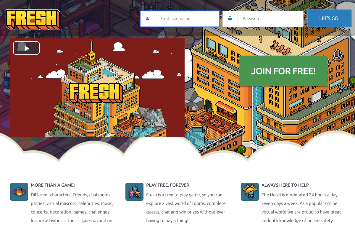 fresh-hotel.org/Login – Fresh Hotel Game Login & Registration Guideline