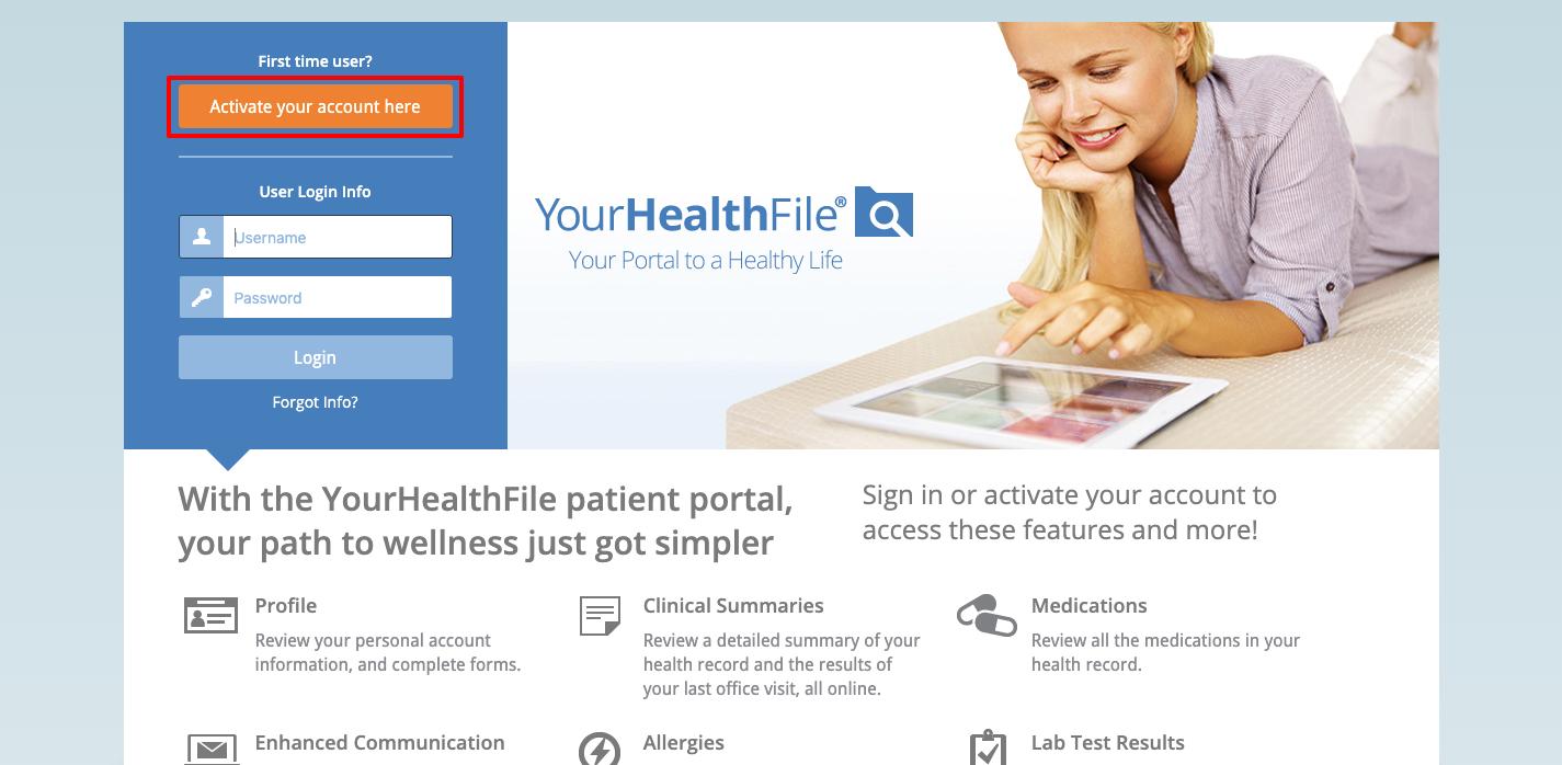 Healthfusion login
