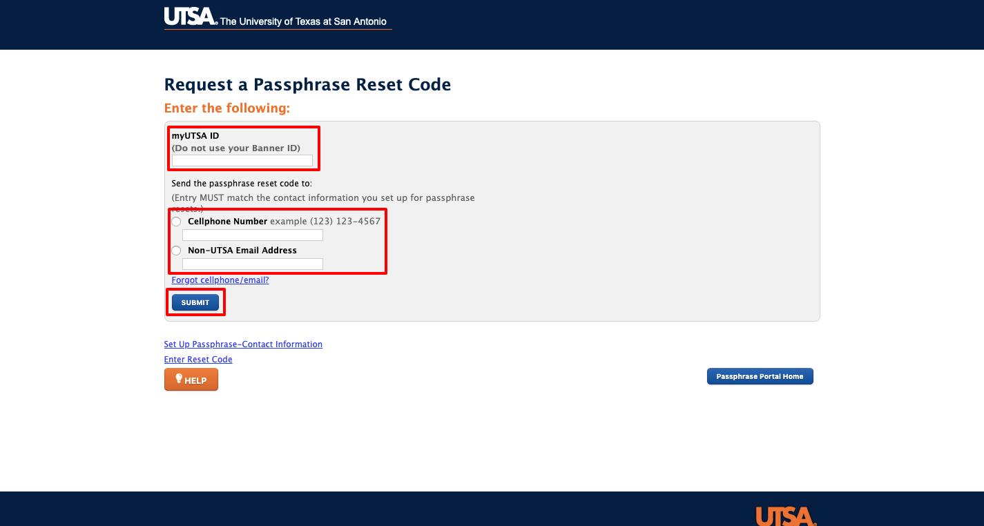 UTSA Portal