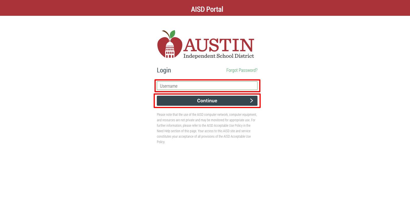 AISD portal Login