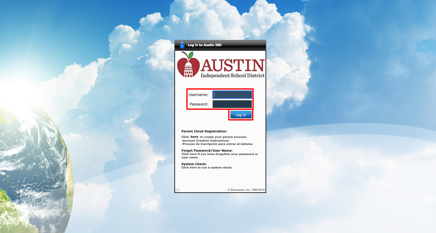 Austin ISD Cloud Login