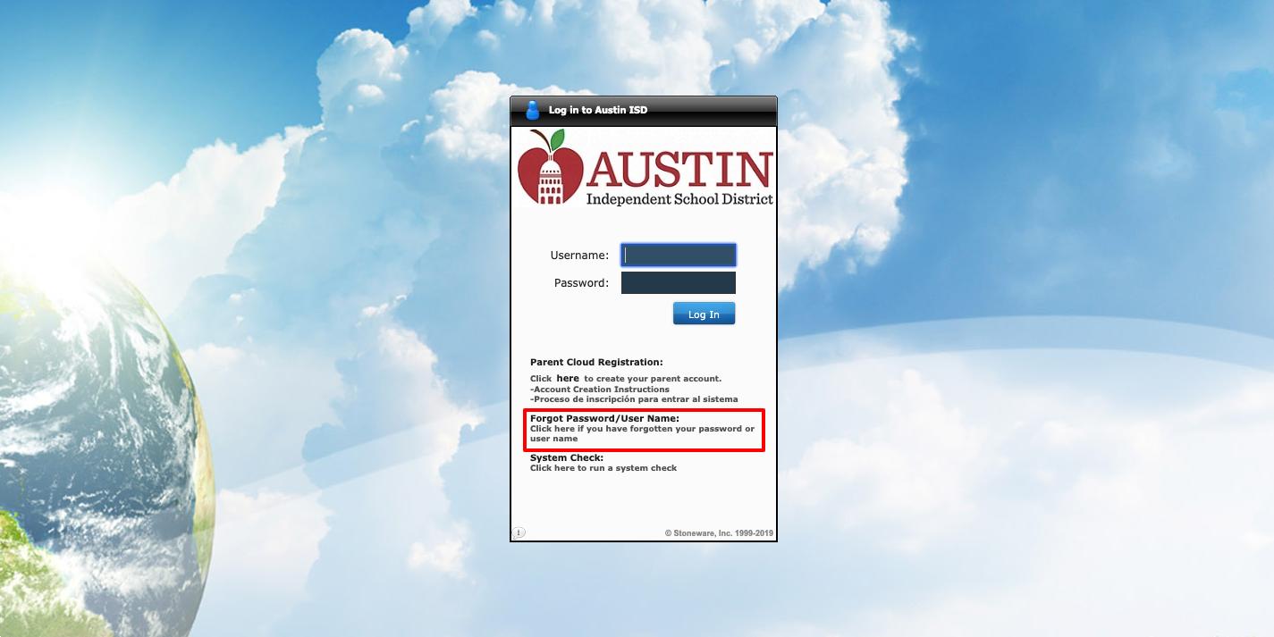 Austin ISD Login