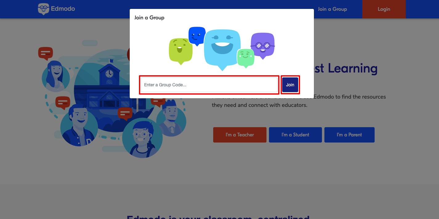 edmodo group code