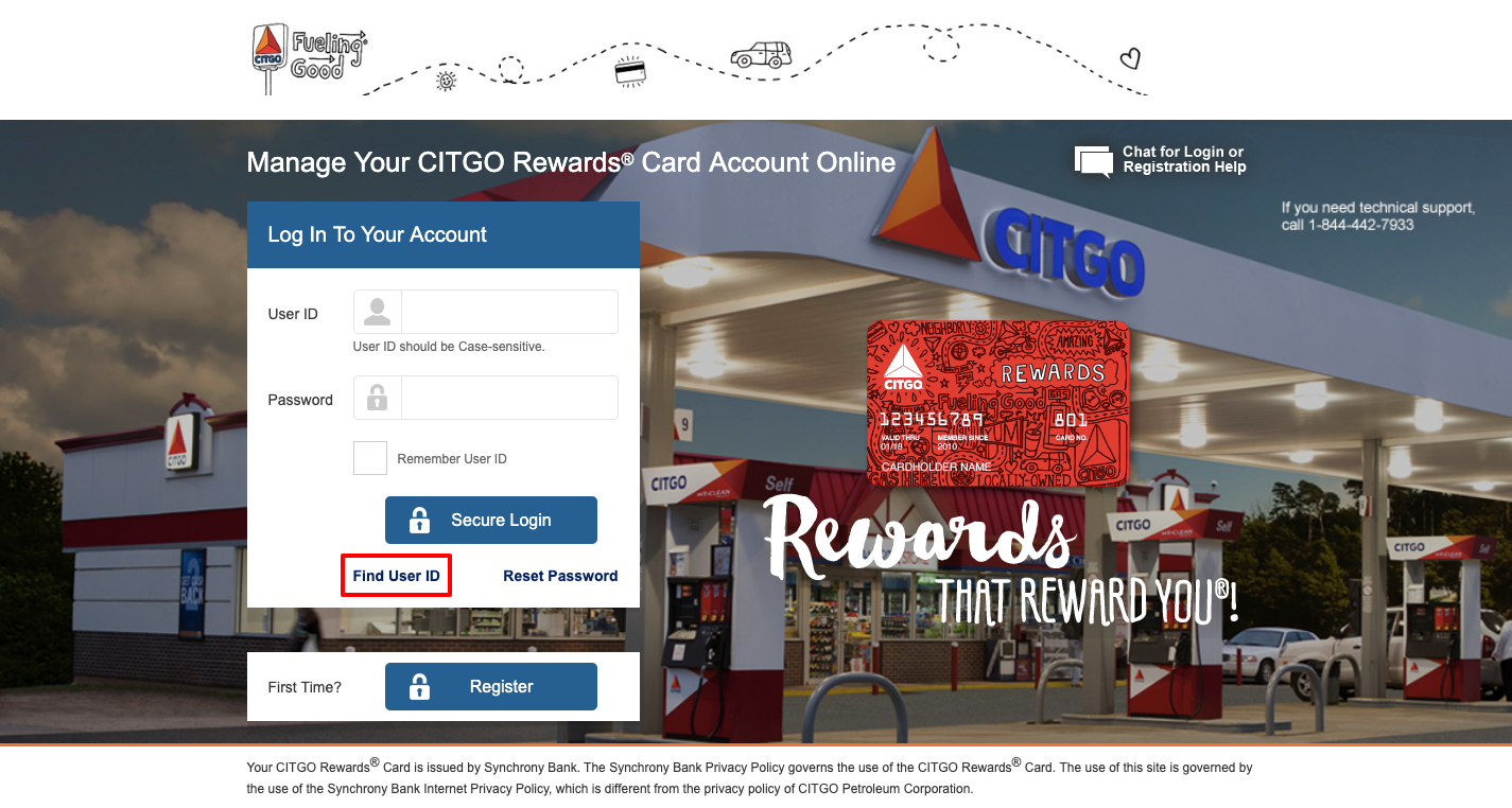 CITGO Credit Card Account