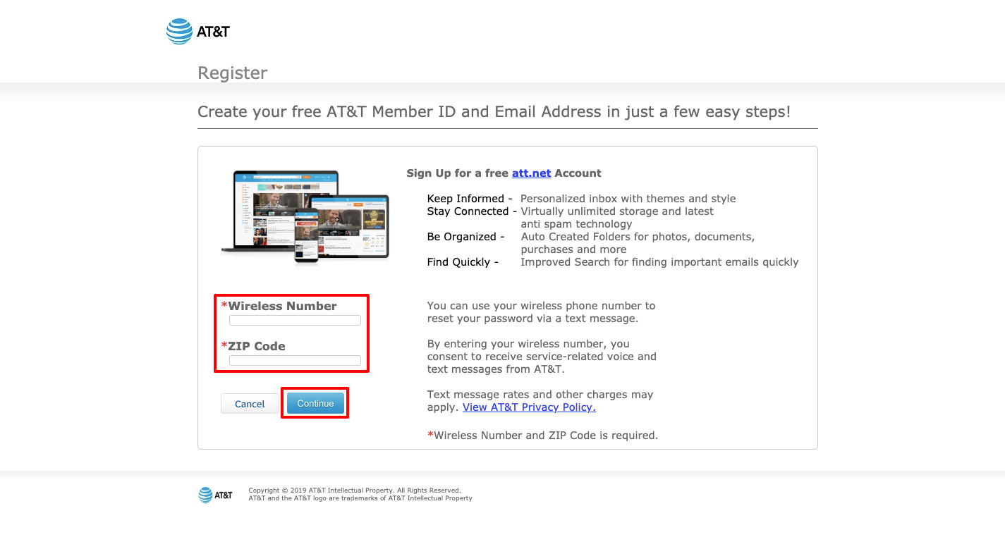 How to Set Up an Email Account With AT&T Net
