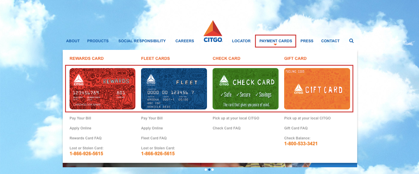 citgo credit card application