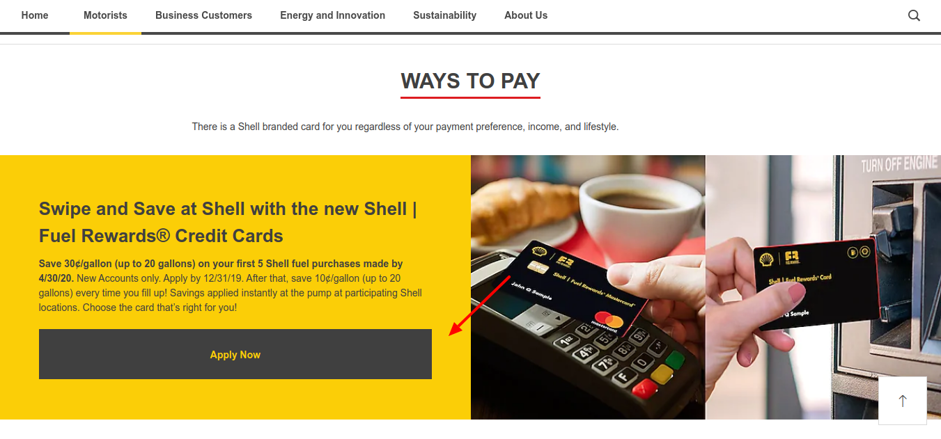 Ways to Pay Shell United States