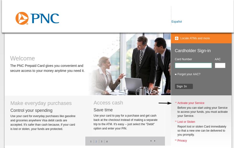 PNC Activate Your Service