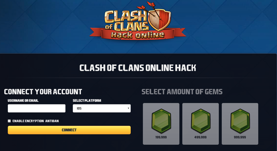 clash of clans gem collect