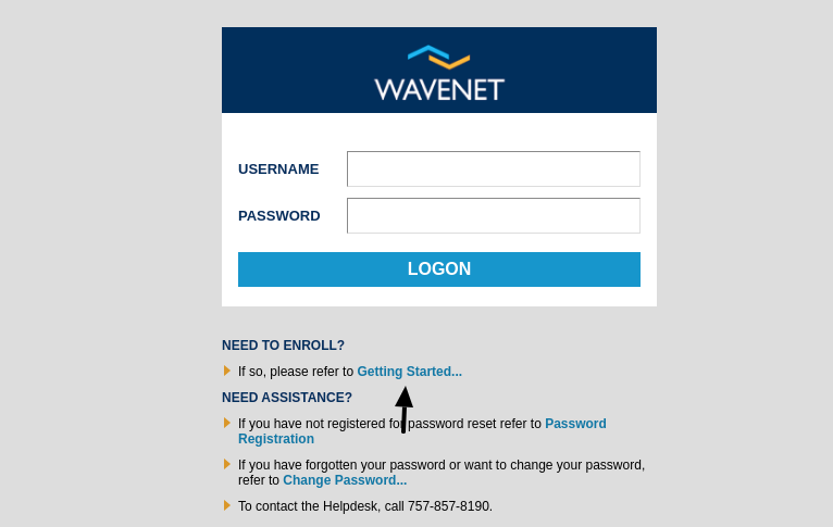 wavenet sentara enroll