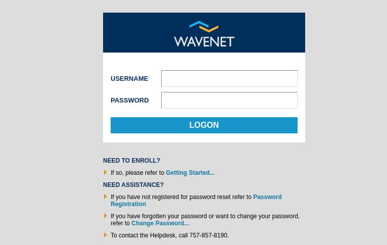 wavenet sentara login
