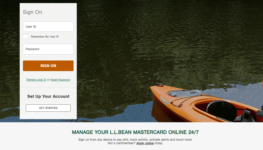 www.activate.llbeanmastercard.com
