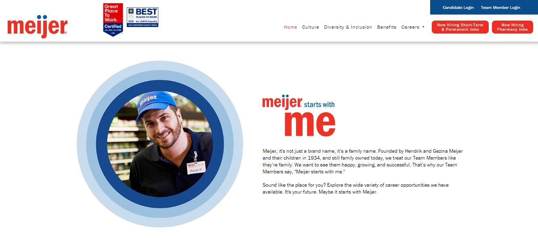 Meijer Career