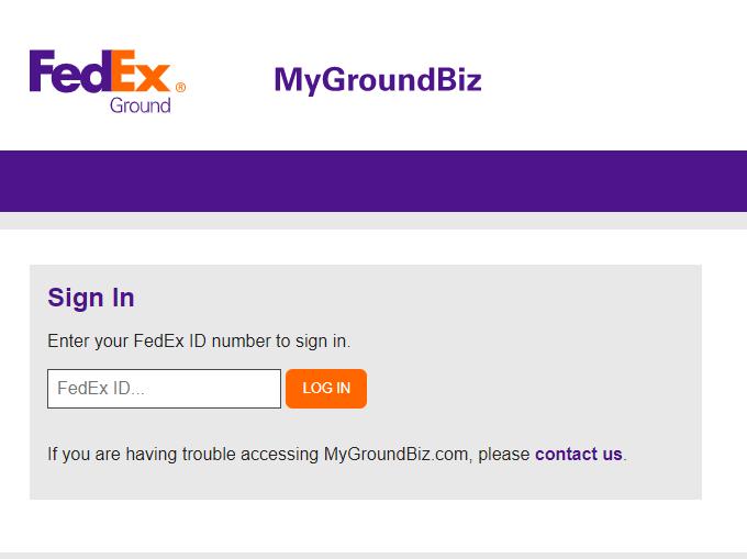 MyGroundBiz Portal
