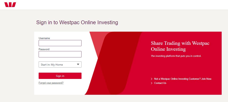Westpac Banking login