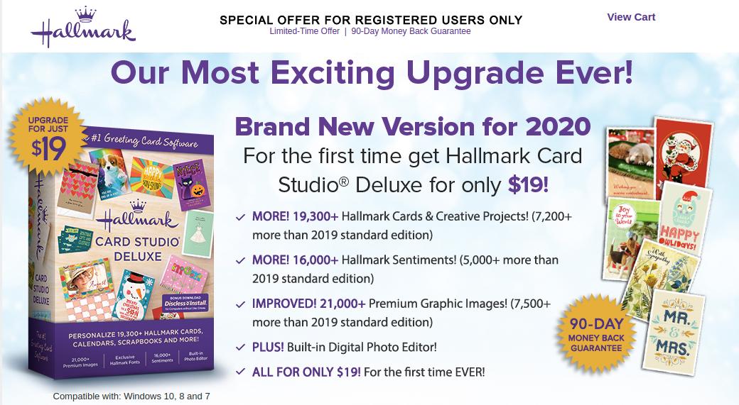 Hallmark Card Studio Deluxe Logo