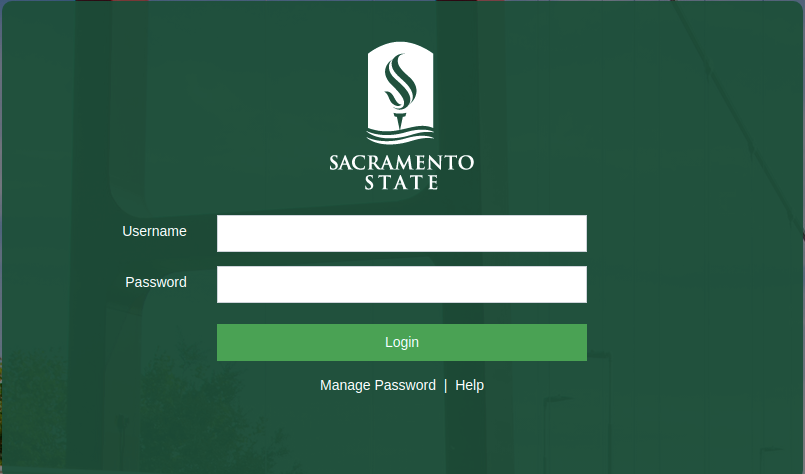 Sacramento State Single Sign On