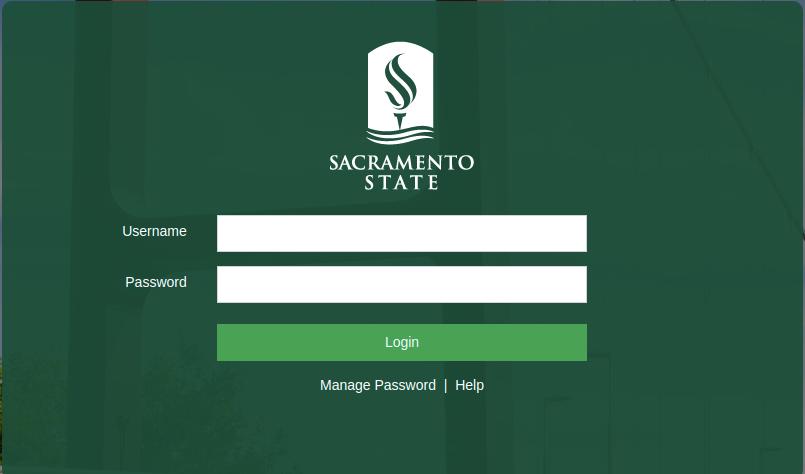 Sacramento State Single Sign On