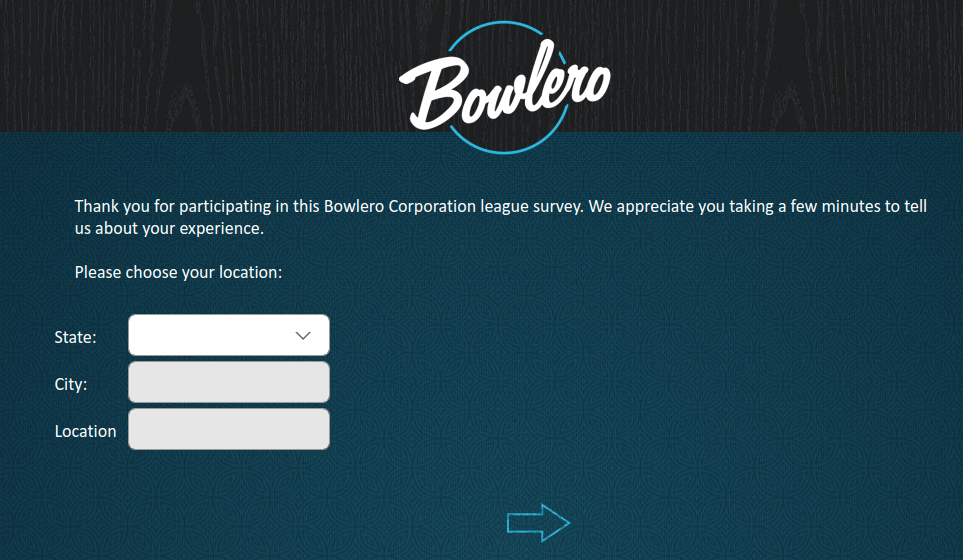 Bowlero Survey