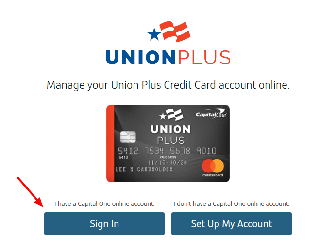 Union Credit Card Sign In